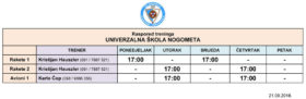 Raspored treninga_univerzalna skola_2018_09_21